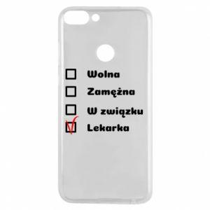 Etui na Huawei P Smart Lekarka