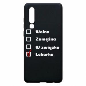 Etui na Huawei P30 Lekarka