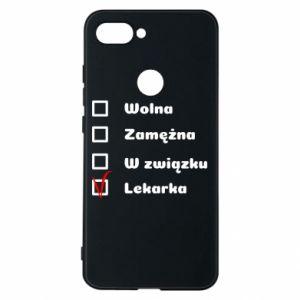 Etui na Xiaomi Mi8 Lite Lekarka