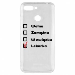 Etui na Xiaomi Redmi 6 Lekarka