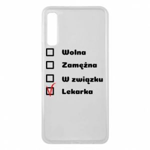 Etui na Samsung A7 2018 Lekarka