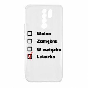 Etui na Xiaomi Redmi 9 Lekarka