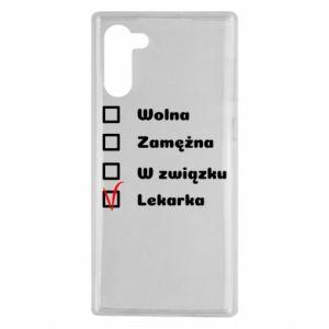 Etui na Samsung Note 10 Lekarka
