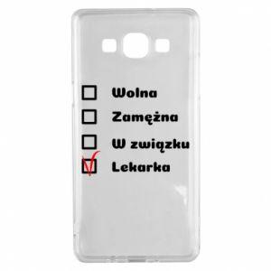 Etui na Samsung A5 2015 Lekarka
