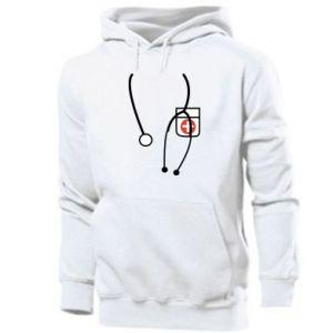 Men's hoodie Doctor - PrintSalon