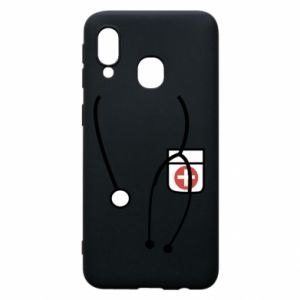 Phone case for Samsung A40 Doctor