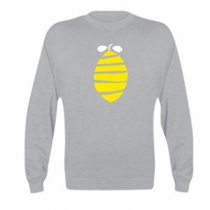 Bluza dziecięca Lemon stripes