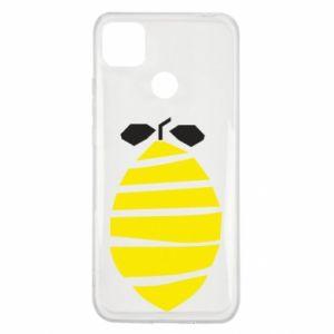 Etui na Xiaomi Redmi 9c Lemon stripes