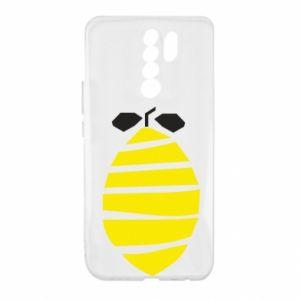 Etui na Xiaomi Redmi 9 Lemon stripes