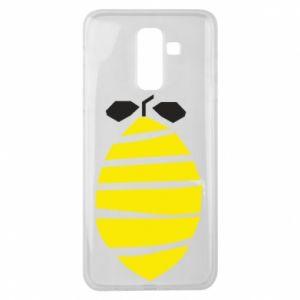 Etui na Samsung J8 2018 Lemon stripes