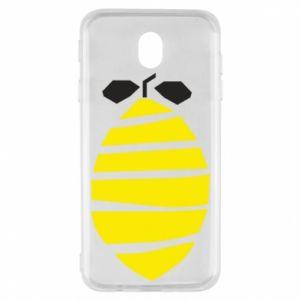 Etui na Samsung J7 2017 Lemon stripes