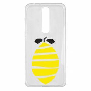 Etui na Nokia 5.1 Plus Lemon stripes