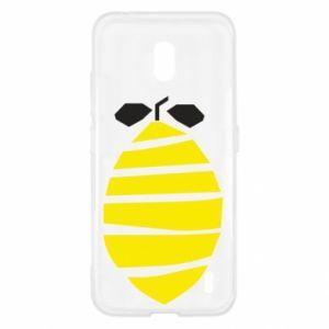 Etui na Nokia 2.2 Lemon stripes