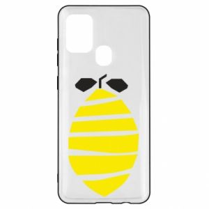 Etui na Samsung A21s Lemon stripes
