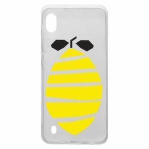 Etui na Samsung A10 Lemon stripes