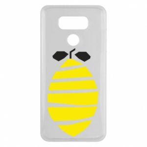 Etui na LG G6 Lemon stripes