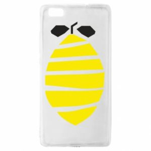 Etui na Huawei P 8 Lite Lemon stripes