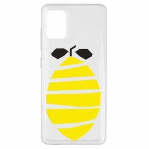 Etui na Samsung A51 Lemon stripes