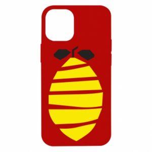 Etui na iPhone 12 Mini Lemon stripes