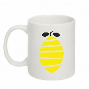 Kubek 330ml Lemon stripes