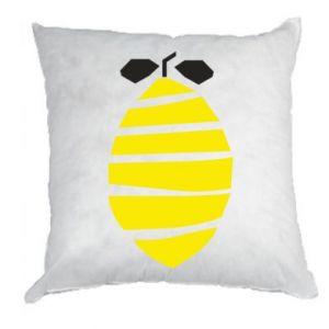 Poduszka Lemon stripes