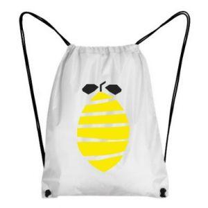 Plecak-worek Lemon stripes