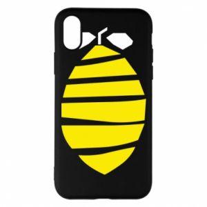 Etui na iPhone X/Xs Lemon stripes