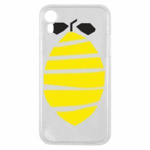 Etui na iPhone XR Lemon stripes
