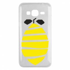 Etui na Samsung J3 2016 Lemon stripes