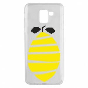 Etui na Samsung J6 Lemon stripes