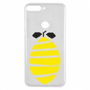 Etui na Huawei Y7 Prime 2018 Lemon stripes