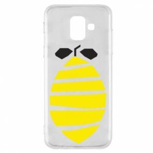 Etui na Samsung A6 2018 Lemon stripes