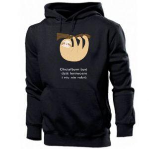 Men's hoodie Sloth