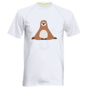 Męska koszulka sportowa Leniwiec jog