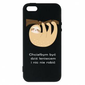 iPhone 5/5S/SE Case Sloth
