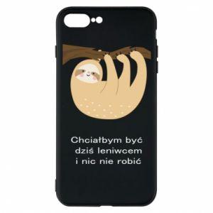 iPhone 7 Plus case Sloth