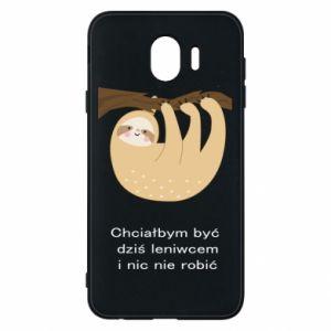 Samsung J4 Case Sloth