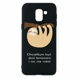 Samsung J6 Case Sloth