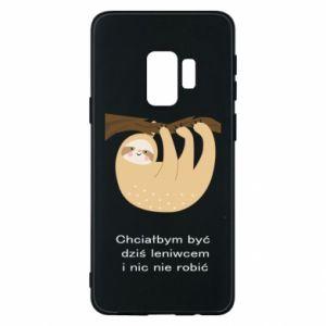 Samsung S9 Case Sloth