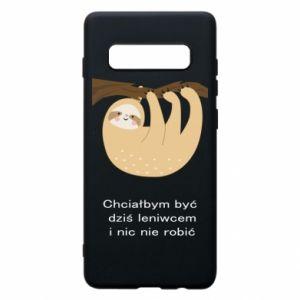 Samsung S10+ Case Sloth