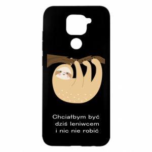 Xiaomi Redmi Note 9 / Redmi 10X case % print% Sloth