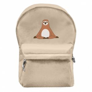 Backpack with front pocket Sloth