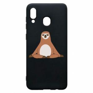 Samsung A30 Case Sloth