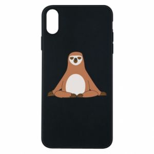 Phone case for iPhone Xs Max Sloth