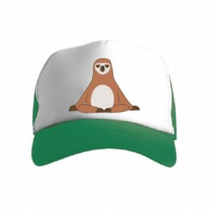 Kid's Trucker Hat Sloth
