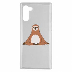 Samsung Note 10 Case Sloth