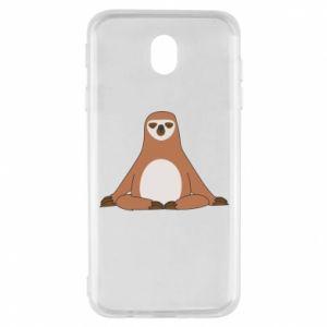Samsung J7 2017 Case Sloth