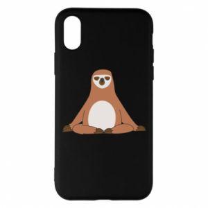iPhone X/Xs Case Sloth