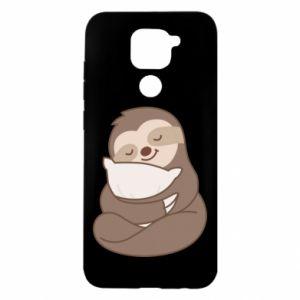 Etui na Xiaomi Redmi Note 9/Redmi 10X Leniwiec z poduszką