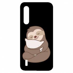 Etui na Xiaomi Mi9 Lite Leniwiec z poduszką